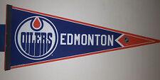 Edmonton Oilers NHL Full Size New Pennant - version #2