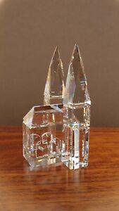 Sparkling 1990's Vintage Swarovski Crystal Cathedral Figurine