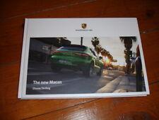 2020 Porsche Macan brochure prospekt