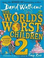 The Worlds Worst Children 2 by David Walliams NEW Hardback