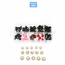 50PCS Plastic Puppet Doll Safety Eye + 25PCS Bear Nose With Washers Sewing Craft