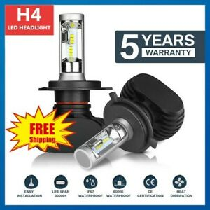 For Ford Laser 1991-2001 Headlights Globes High low beam white LED Bulbs kis 2x