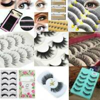 Wholesale 6D Mink Eyelashes Natural False Fake Long Wispy Thick Handmade Lashes