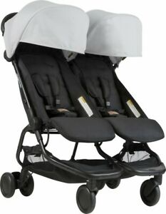 Double Baby Stroller Twin Mountain Buggy Nano Duo - New Boxed