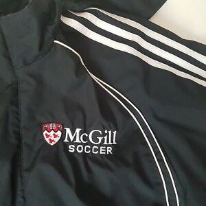 McGill University Men's Size Medium Soccer Adidas Jacket - AS IS