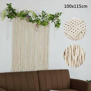 Macrame Wall Hanging Boho Wedding Backdrop Handmade Door Window Curtain Decor