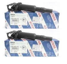 BMW Set of 2 Ignition Coils with Spark Plug Connectors (Original BOSCH Version)