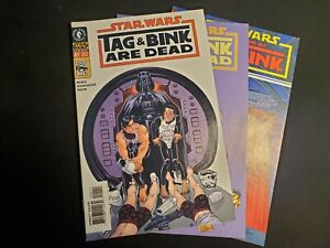 Star Wars, Tag & Bink collection, 3 issues, Dark Horse Comics,