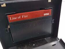 LINE OF FIRE PAL SEGA MASTER SYSTEM .COMBINO ENVIO