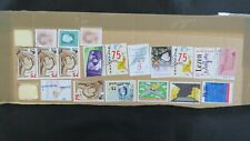 Netherlands Collection of High Value Stamps on Cardboard