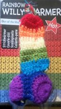 WILLY WARMER.  RAINBOW WILLY WARMER.. CORRECT PACKING!!!