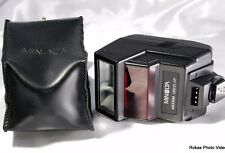Minolta Maxxum camera 2800 AF Flash With Case (9105004) Mint condition