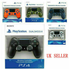SONY PS4 Controller PlayStation Game Console Pad DualShock Wireless / Jet Black