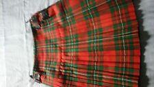 Kilt made by Kirk Wynd Highland Shop , Kirkaldy Scotland 8 yd  W32-34 L25