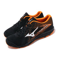 Mizuno Stargazer 2 Black White Orange Men Running Shoes Sneakers K1GA2050-09