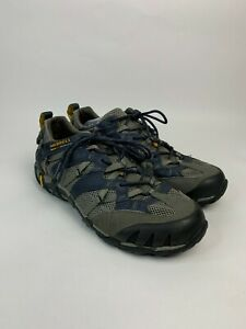 Merrell Continuum Waterpro Ultra-Sport Vibram Hiking Shoes Blue Gray, Sz 9, $80