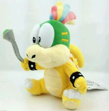SUPER MARIO BROS. LEMMY KOOPA PELUCHE - 22Cm. - Plush Koopalings Figure Boo Toad