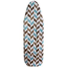 "Sunbeam Chevron Cotton 15"" x 54"" Ironing Board Cover Elasticized Edges Eby55165"