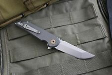Jake Hoback Knives Kwaiback MK Ultra Aluminum - AEB-L Steel - Authorized Dealer