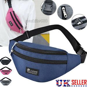 Waterproof Sport Waist Bum Bag Jogging Jogging Belt Zip Gym Pouch Unisex