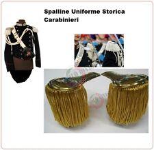 Coppia di Spalline Uniforme Storica GUS Carabinieri Oro + Oro Art.NSD-GUS-OO