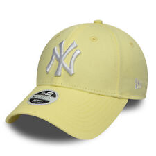 New Era MLB Womens League Essential New York Yankees Cap Baby Yellow OSFA