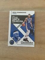 2019-20 Panini NBA Chronicles Ben Simmons