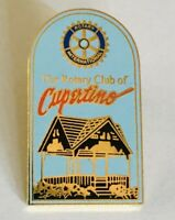 Rotary International Cupertino Souvenir Club Pin Badge Rare Vintage (C3)