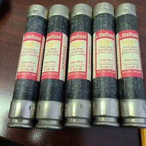 LITTELFUSE FLSR35 FUSE  FLSR 35 AMP  TIME DELAY 600 VOLT - LOT OF 5