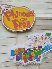 Phineas and Ferb Cake Banner