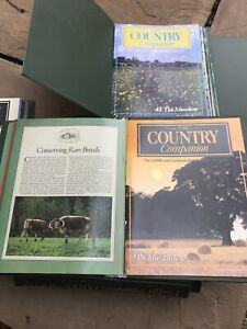 The Country Companion Magazine Partworks 1980s Pick Your Number 1-98 £6.99 Each