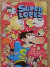 Super López, nº 12, Colección Olé, Ediciones B, Grupo Z,Primera reimpresión,1990