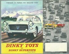 Catalogue DINKY TOYS & SUPERTOYS 1961 ETAT NEUF miniature avion militaria 404