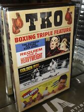 Boxing Triple Feature - Requiem For A Heavyweight / Golden Boy / Joe Louis Story