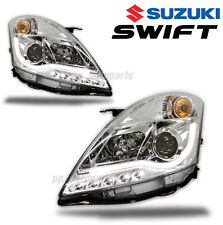 HEAD LIGHT LAMP PROJECTOR CCFL LINE WHITE CLEAR LEN SONAR SUZUKI SWIFT 2010-2015