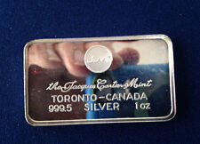 Jacques Cartier Mint Toronto Canada JCM-1V 999.5 Silver Art Bar P1708