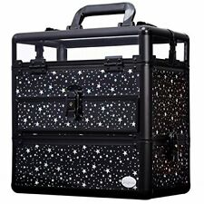 Large Nail Train Case Professional Cosmetic Makeup Box Portable Accessory Kit by