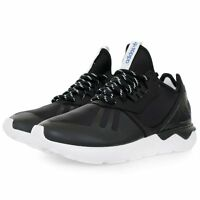 Adidas Originals Tubular Runner Men's Trainers Black White Men's Shoes M19648