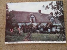 .JUDGES.POSTCARD.WHITEHOUSE FARM.PHOTO BY MRS C.E.A. GILSON.DINNINGTON