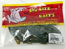 """New listing Big Bite Baits - 4"""" Rojas Fighting Frog - Green Pumpkin - 4Rff-05"""
