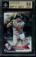 2016 Topps Chrome Gary Sanchez RC Card #143 BGS 9.5 Gem Mint Rookie NYY Yankees