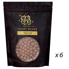 Lichfields torta & Gelato Palline di malto condimenti CIOCCOLATO MINI 208646 1 KG x 6 BAG'S