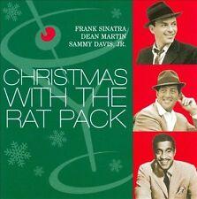 Christmas with the Rat Pack CD Frank Sinatra Dean Martin Sammy Davis Jr 2001