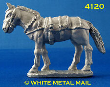 Military Lead Casting 4120 54mm Battery Team – Mule Un-laden