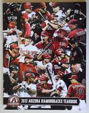 ARIZONA DIAMONDBACKS D-BACKS 2012 BASEBALL YEARBOOK - Excellent Cond