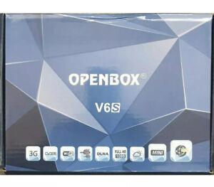 OPENBOX V6S FREESAT BOX SATELLITE RECEIVER Compact New* V8S & V5S