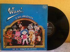 WAWI Y SUS AMIGOS EL GRANERO DE LOS OSOS MEXICAN LP CHILDREN