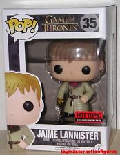 FUNKO POP GAME OF THRONES JAIME LANNISTER #35 GOLD GLOVE HT Exc IN STOCK