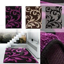 Moderne Wohnraum-Teppiche aus Polypropylen für Blumenmuster und Flur/Diele