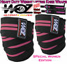 Weight lifting Women Heavy Duty Knee wraps Powerlifting Bodybuilding Wrist Wraps